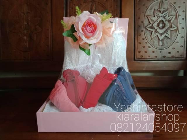 Paket Seserahan Pernikahanparsel Baju Tidur Pakaian Dalammahar Nikahparcel Hantaran Pernikahan