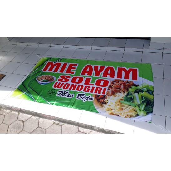 Banner Jualan Mie Ayam - desain spanduk keren