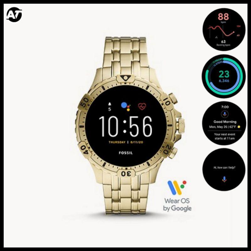 Fossil Smartwatch Pria - Smartwatch Fossil Gen 5 FTW4039 ORIGINAL Resmi