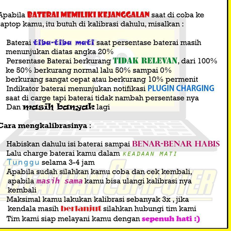 Muraaaahh Baterai Original Toshiba C600 C640 L750 L740 L745 L775 3817 Pa3817 Shopee Indonesia