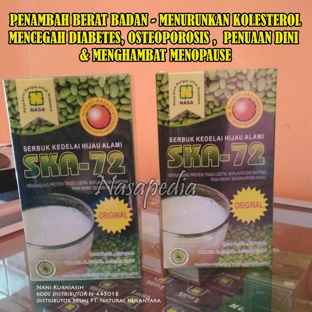 Ska 72 Original Nasa Suplemen Penambah Berat Badan Shopee