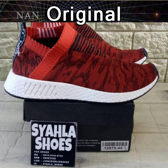 832e9c5575894 Sepatu Model Adidas NMD CS2 x United Row Format 100% Asli
