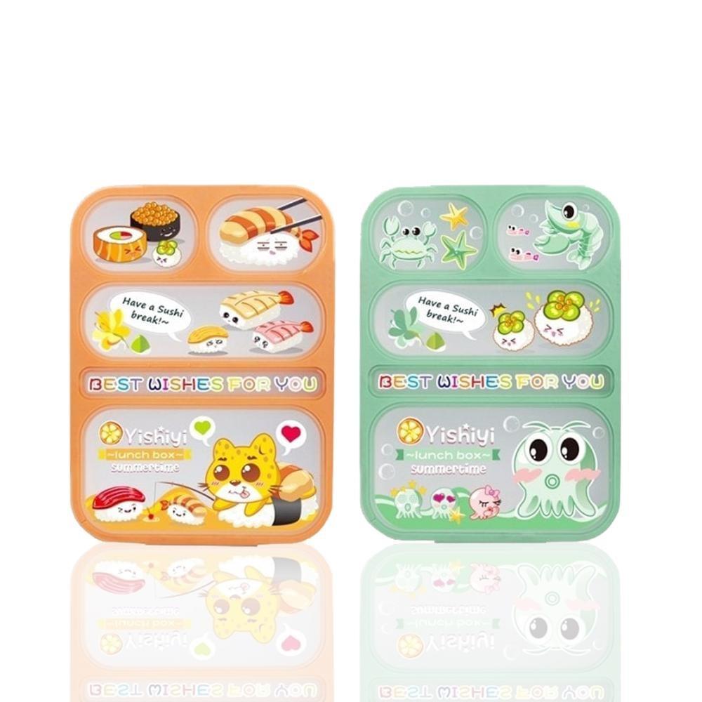 Paling Laku Lunch Box Anti Tumpah Kotak Makan Yooyee Original 3 Leakproof Lunchbox Mini 605 4 Sekat Biru Muda 579 Shopee Indonesia