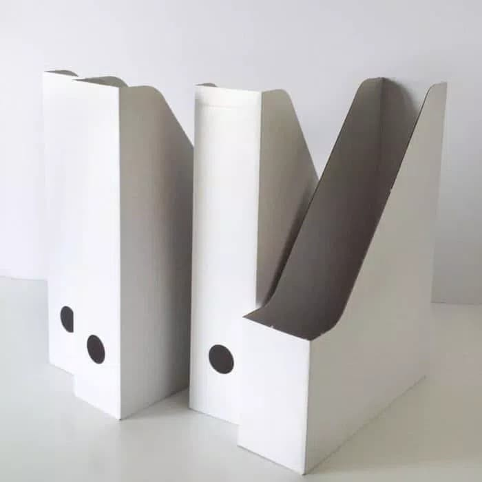File Box Ikea Fluns 4pc Putih