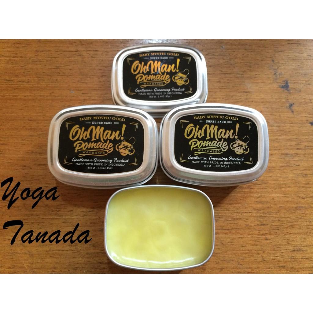 Pomade Oh Man Baby Mystic Gold Oilbased Oil Based Free Sisir Murrays Superior Saku Murray Hair Wax Minyak Rambut Shopee Indonesia
