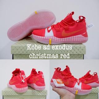 Sepatu Basket Nike Kobe Ad Exodus Christmas Red Shopee Indonesia