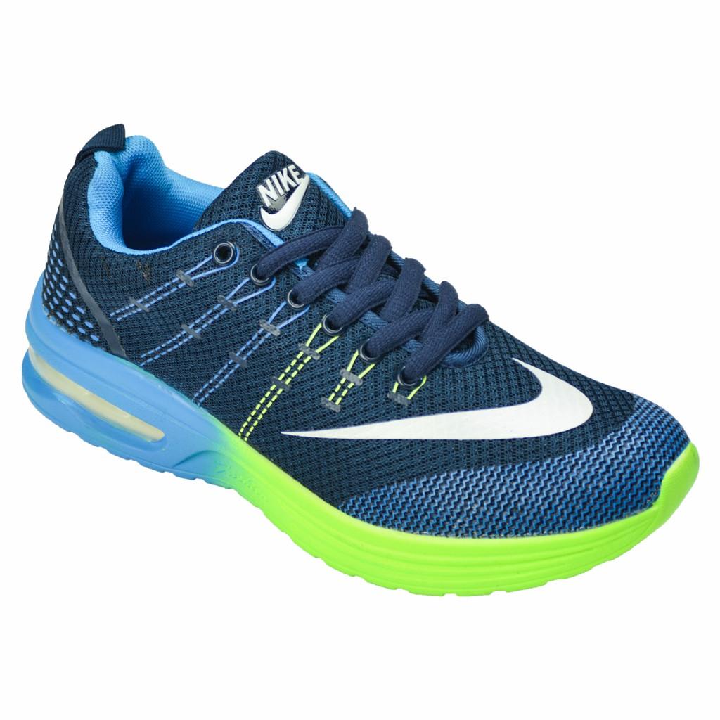 Original Sepatu Nike 2017 Air Max Pria Wanita Running Mesh Olahraga Sport Tenis Deep Blue Shopee Indonesia