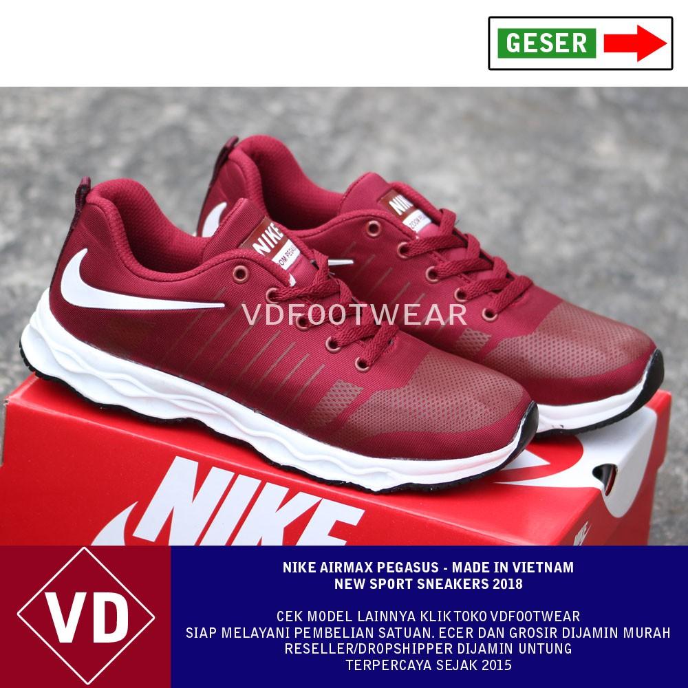Sepatu Running Nike Zoom Sepatu Olahraga Pria Running Shoes Casual Murah  Terbaru Adidas Sneakers 802cf0704d