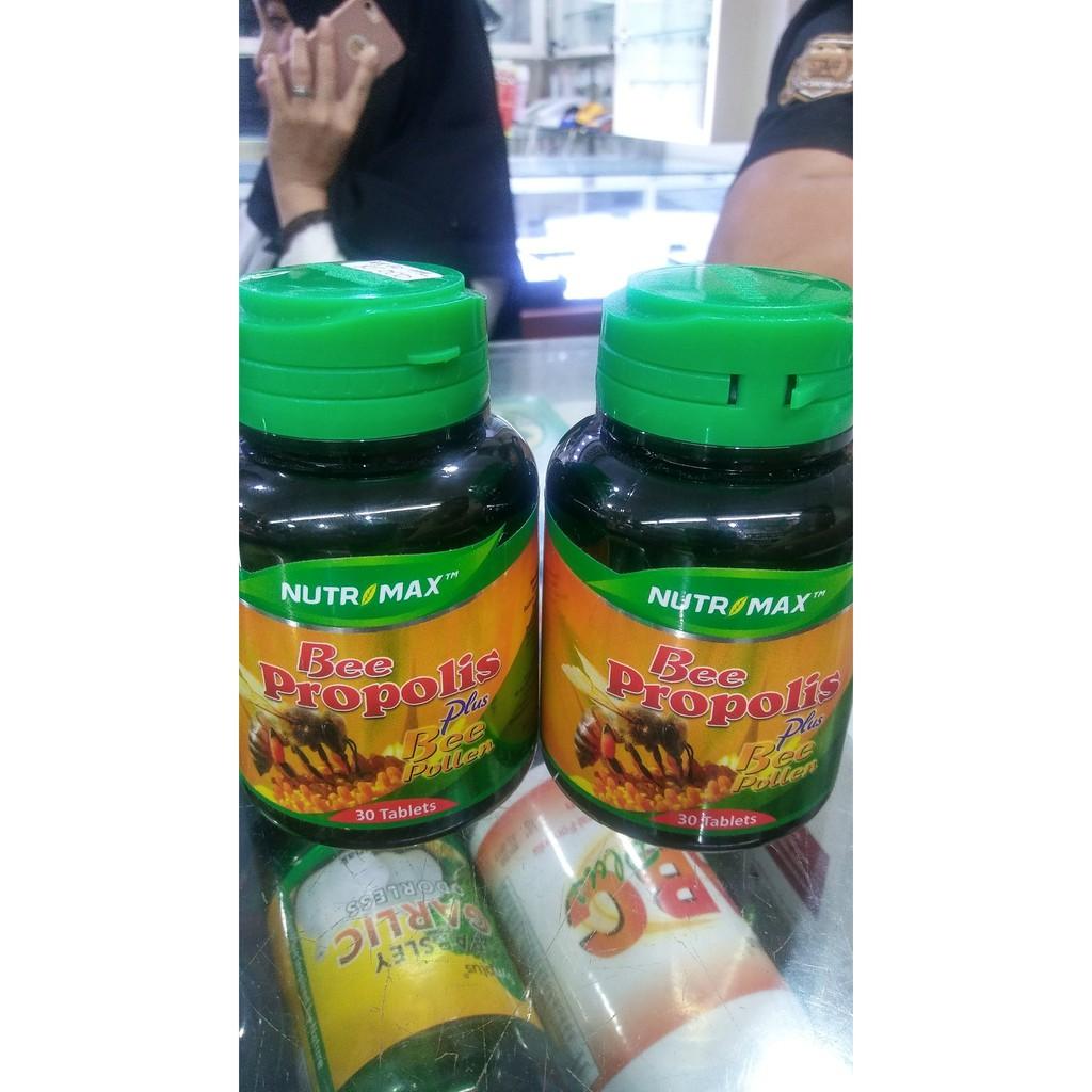 Asli Bee Propolis Plus Polen Nutrimax Isi 30 Tablet Perfect B Complex Shopee Indonesia