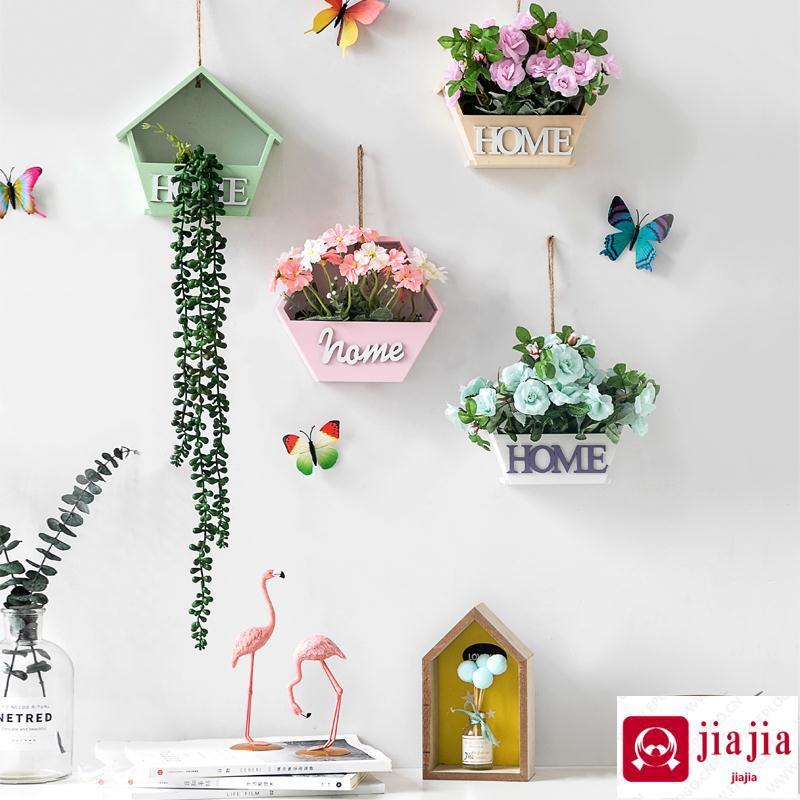 Hiasan Dinding Kreatif Hiasan Dinding Keranjang Bunga Dinding Pot Bunga Kamar Tidur Rumah Gaya Nordic Dinding Ruang Liontin Shopee Indonesia