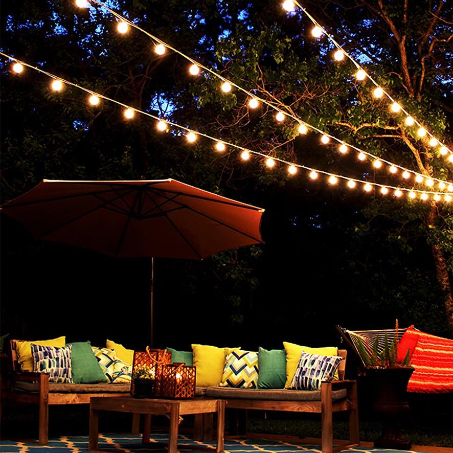 Festoon Clear Lampu Gantung Dekorasi Cafe Pesta Lampu Hias Taman Lampu Lucu Lampu Bohlam Dekorasi Shopee Indonesia