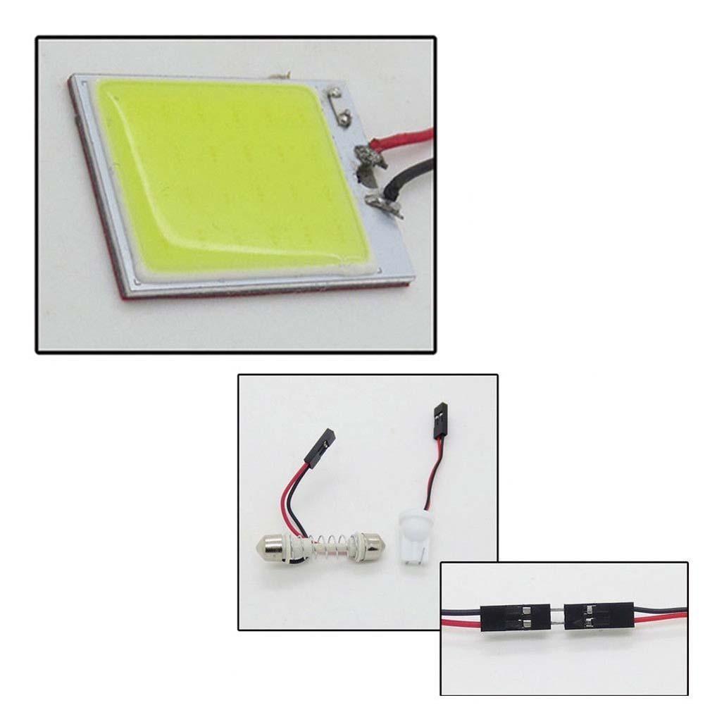 Lampu LED Mobil / Motor / Senja T10 w5w / Wedge Side COB 2W - Yellow | Shopee Indonesia