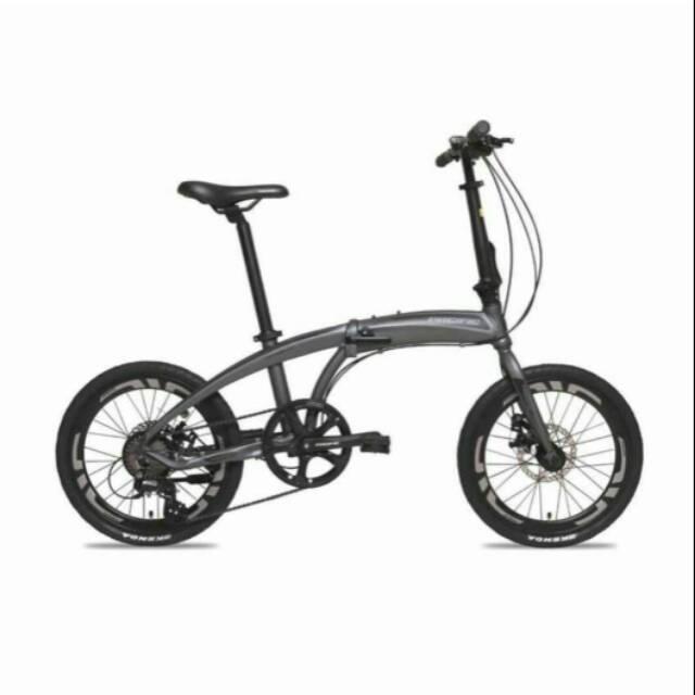 Pacific Noris 2 folding bike 2.0 8 speed sepeda lipat