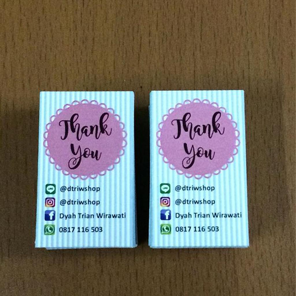 Kartu Ucapan Terima Kasih Stiker Kupon Souvenir Pernikahan 5 Photo Booth 28 Shopee Indonesia