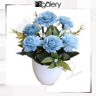 fygalery pt12 bunga dekorasi pot tanaman hias mini flower