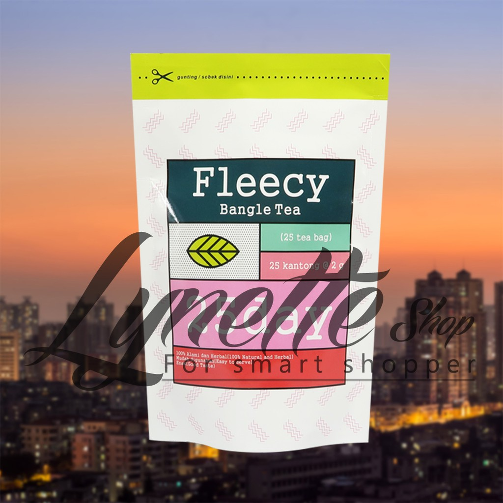 Fleecy Bangle Tea Shopee Indonesia Obat Pelangsing Badan Original