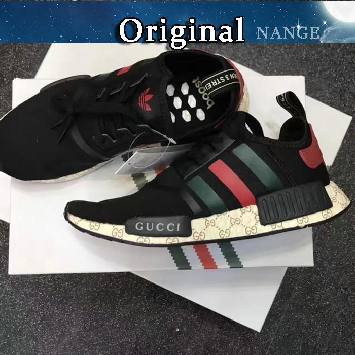 762d21424 ADIDAS NMD R1 Boost x Gucci Black Original Premium