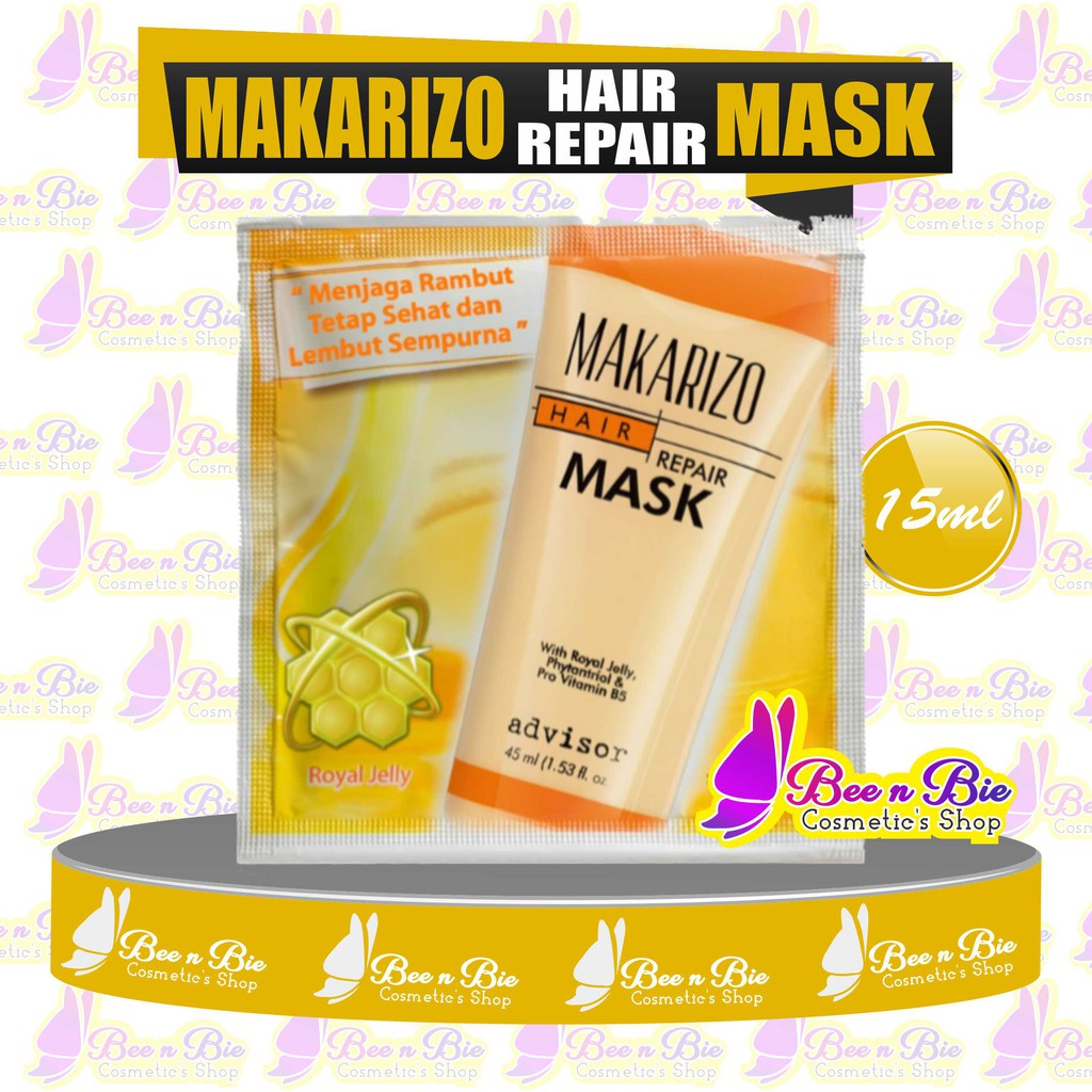 Bnb Makarizo Advisor Hair Repair Mask Sachet 15ml Makarizo Masker Rambut Saset Sidoarjo Shopee Indonesia