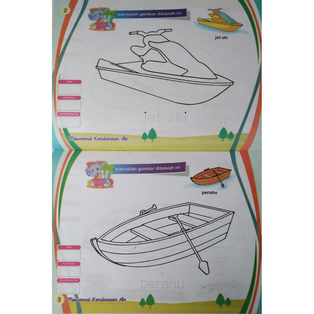 Buku Mewarnai Full Colour Seri Mewarnai C Shopee Indonesia