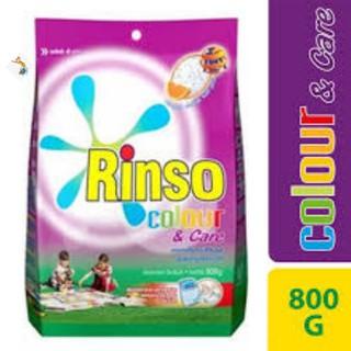 Rinso Colour & Care anti noda 800gr Deterjen Bubuk Detergen Warna