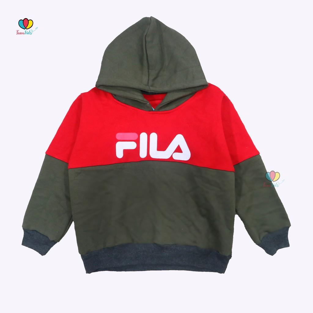 Jaket Casual Anak Laki Perempuan Sweater Unisex Baju Atasan Lengan Panjang  Abu 6-10 Tahun  25844cc0e5