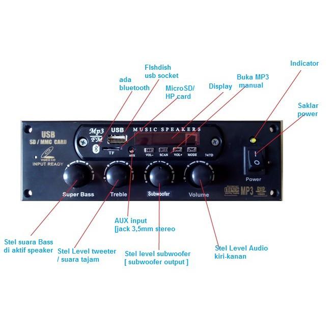 music speakers 747d инструкция