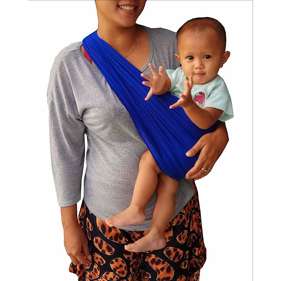 Geos Bians Banyak Posisi Gendongan Kaos Bayi Blue Electric Motif 09 Shopee Indonesia