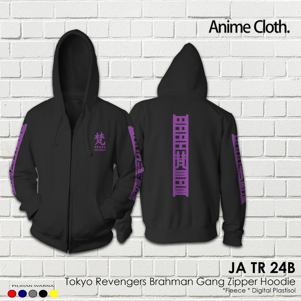 Jaket Zipper Hoodie Anime Brahman Gang Cosplay Tokyo Revengers JA TR 24
