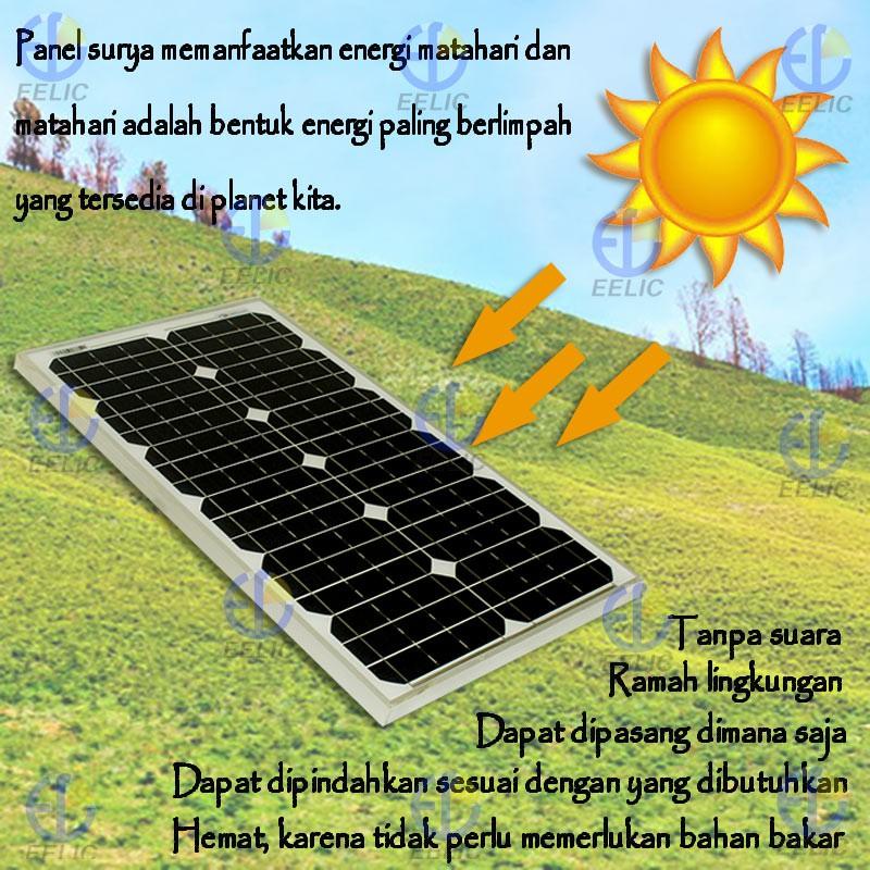 Eelic Sop Imono30w Solar Panel Sel Surya Panel Surya Waterproof