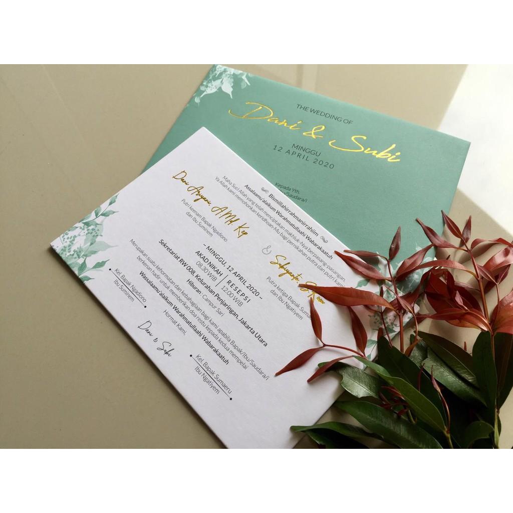 Wedding Invitation Shopee Indonesia