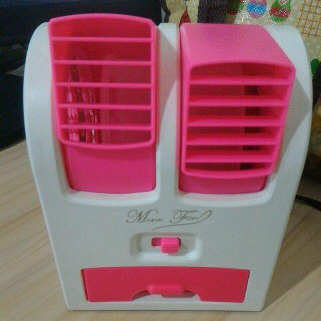 AC Mini Portable Fragrance Double Blower Ungu| Bisa untuk Aroma Terapi. Source · 2017