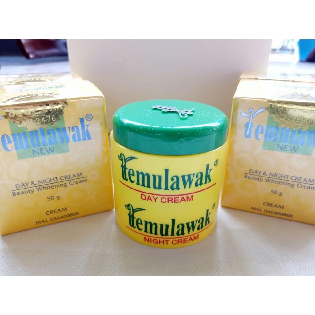 Temulawak Cream Set Siang Malam Sabun Krim Day Night Pot Kuning Original Holo Emas Super Widya Shopee Indonesia