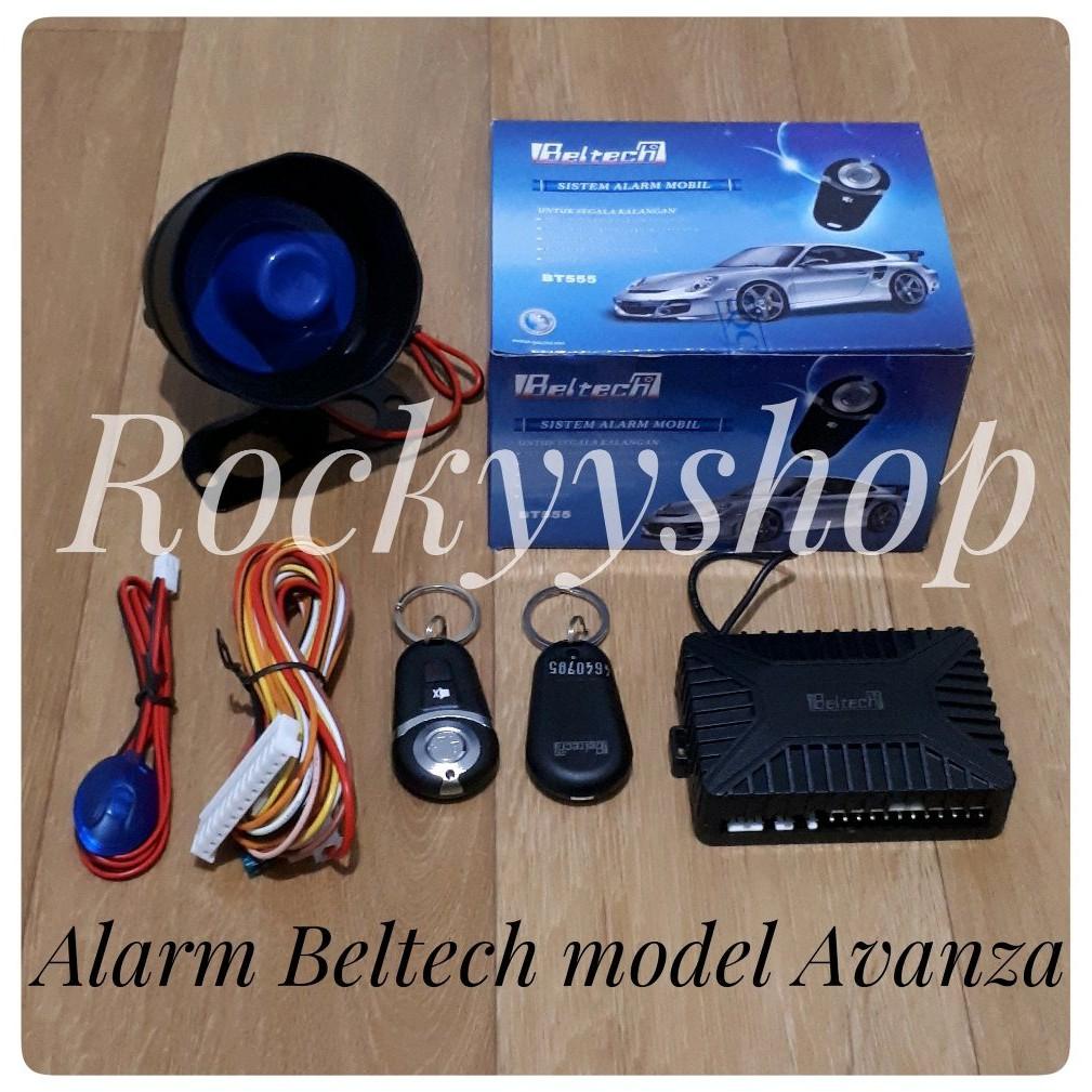 Alarm Mobil merk Beltech .