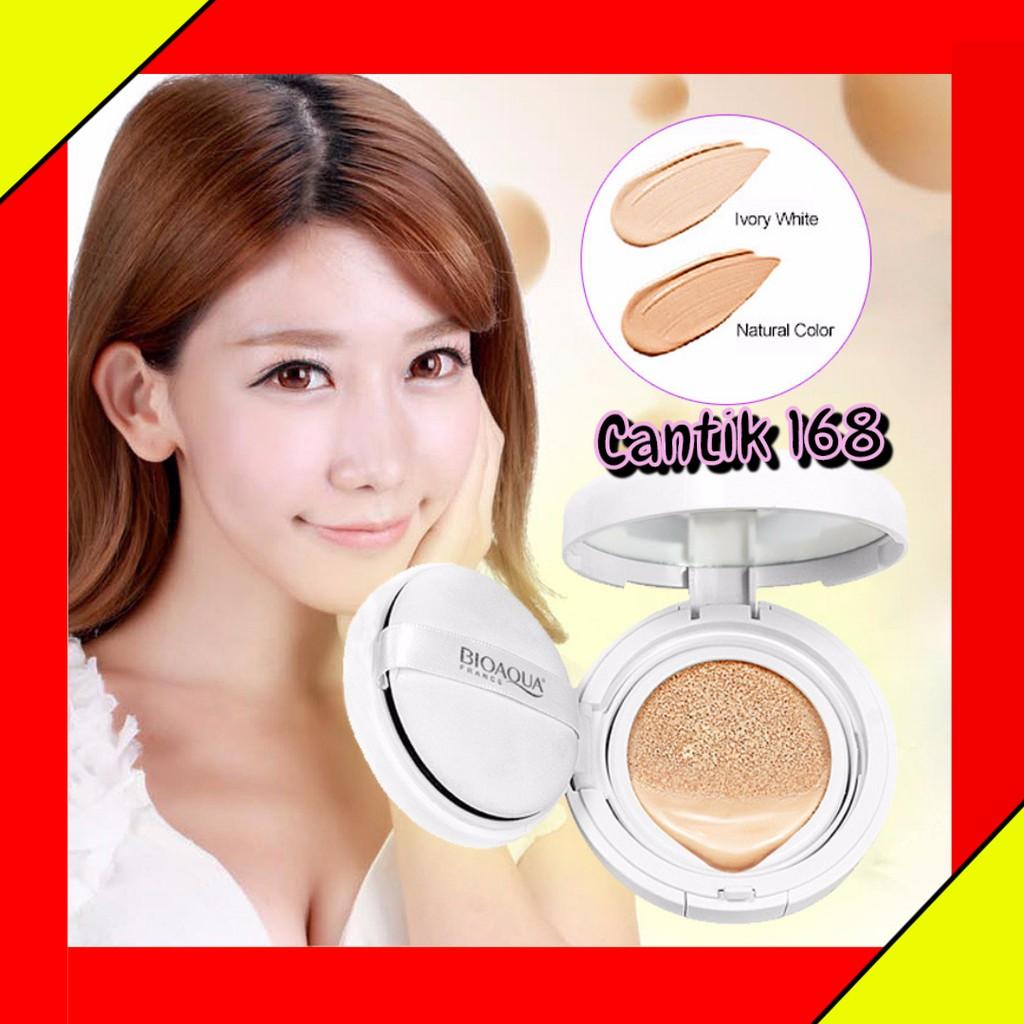 Bioaqua Exquisite And Delicate Bb Cream Air Cushion Pack Gold Ivory White 02 Plus Refill Free Masker Bibir Shopee Indonesia