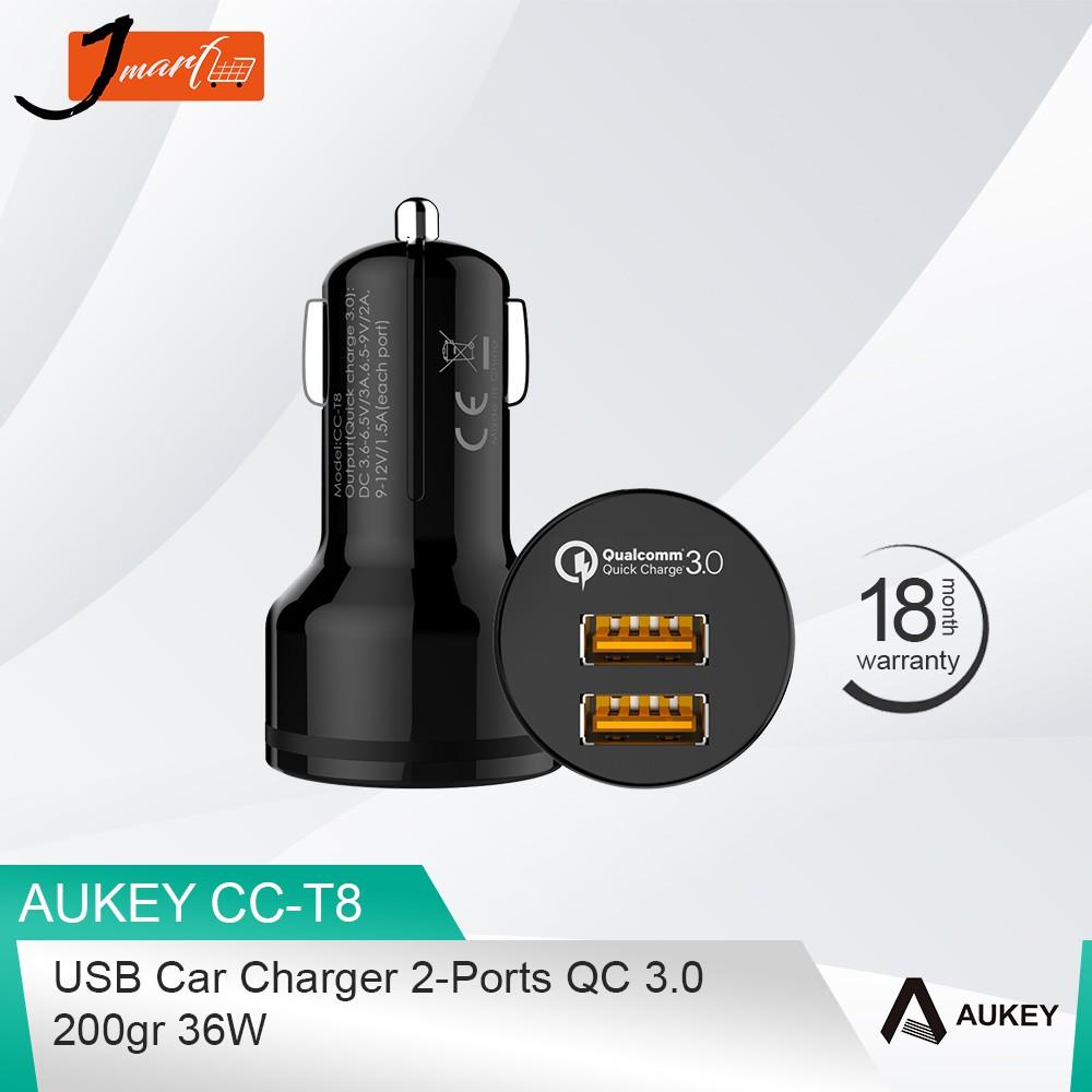 Promo Belanja Aukey Online September 2018 Shopee Indonesia Cc S3 Car Charger Dual Port Usb 24w Hitam