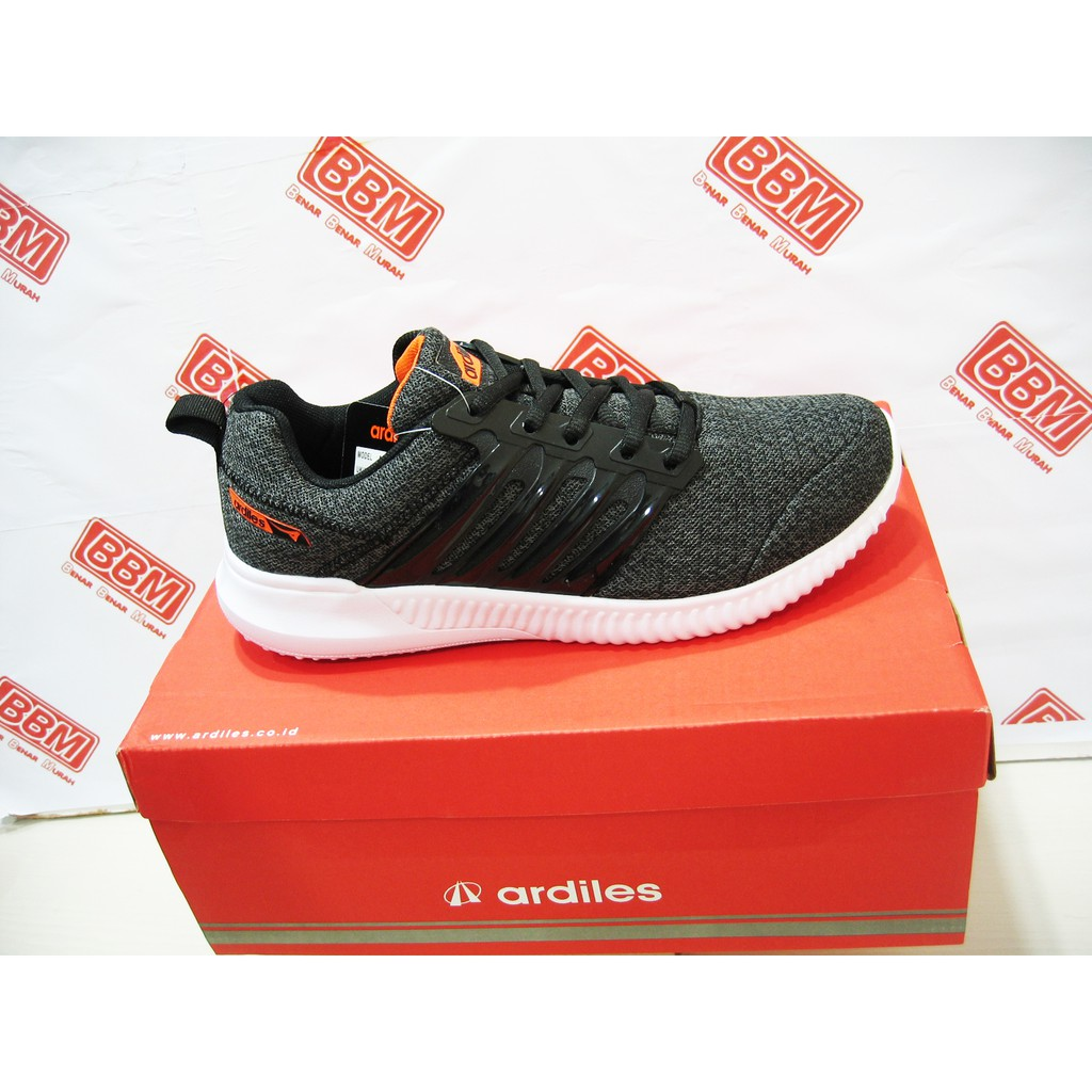 Ardiles Men Edogawa Sepatu Running Hitam  455dc82d44