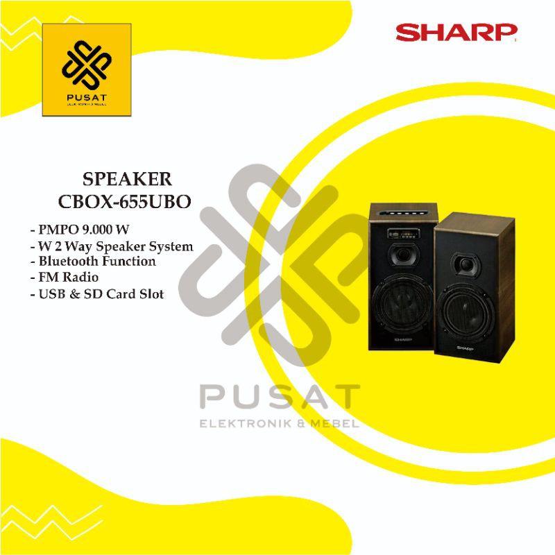 Sharp - Speaker CBOX655UBO