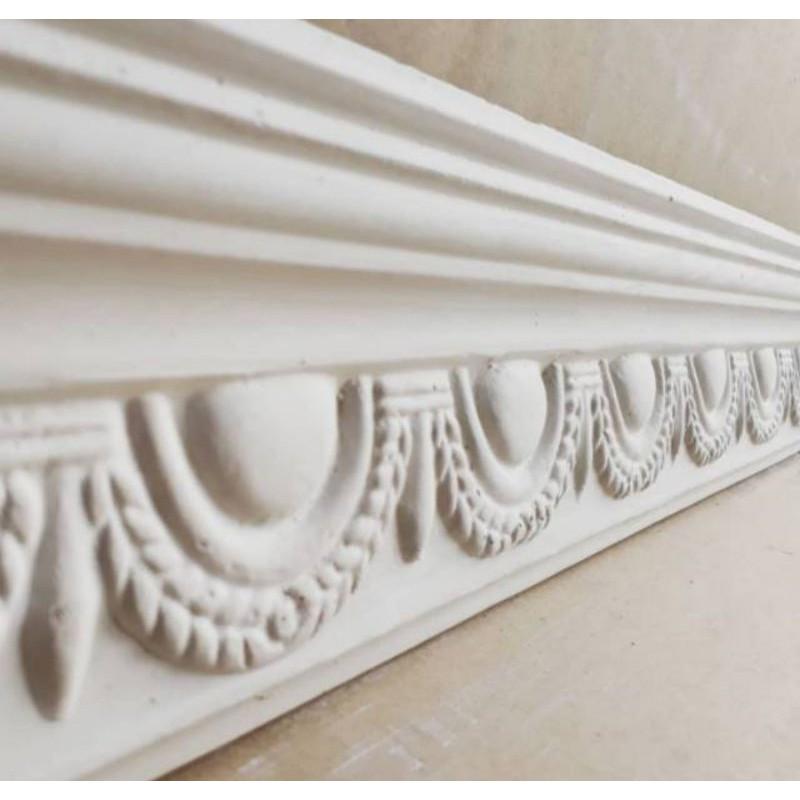 Lis Profil Gypsum Motif Biskuit 12cm | Lis profil dinding plafond gypsum termurah | Gypsum Semper