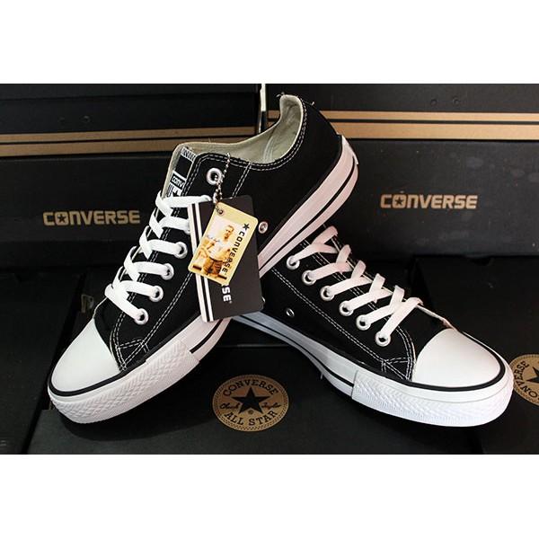 Sepatu Converse CT All Star Basic Classic OX Black White