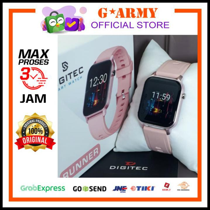 Jam Digitec Runner Pink - Jam Tangan Runner - Digitec Smartwatch Hwd455
