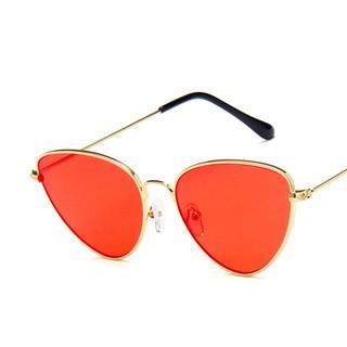 ... Kacamata Pelindung Matahari dengan Model Cermin dan Bahan Logam Bergaya  Retro untuk Wanita UV400. suka  357 b0c915b885