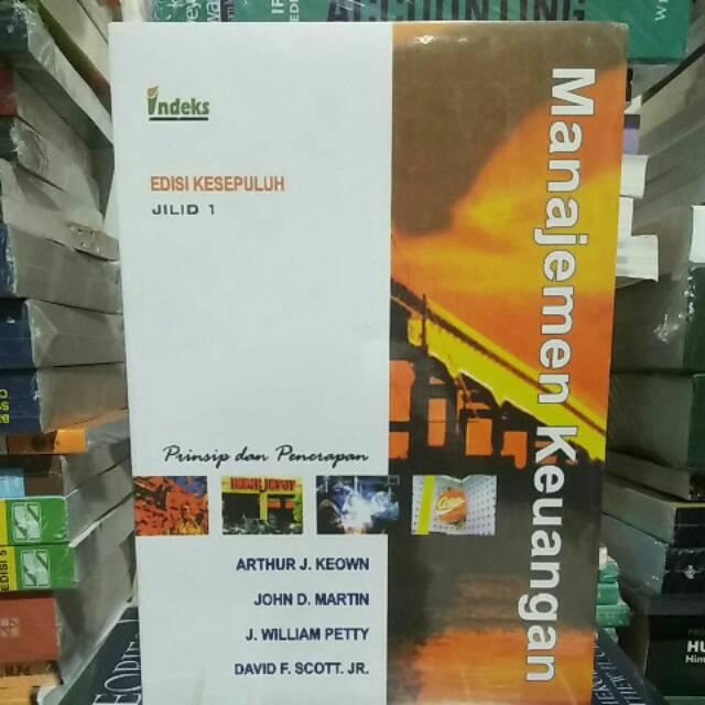 MANAJEMEN KEUANGAN Edisi 10 Jilid 2 Arthur J Keown Indeks | Shopee Indonesia