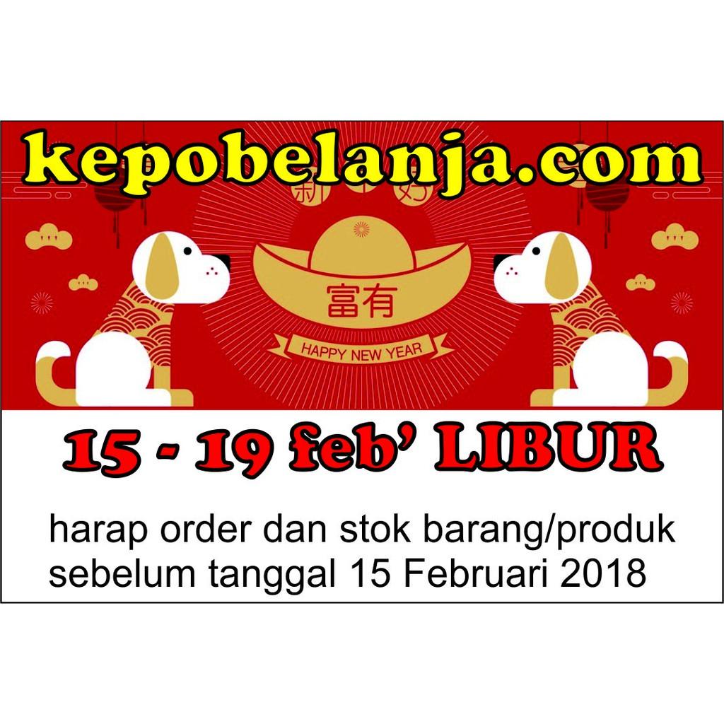 Nenas Imlek 8 Shopee Indonesia Libur Februari 2018