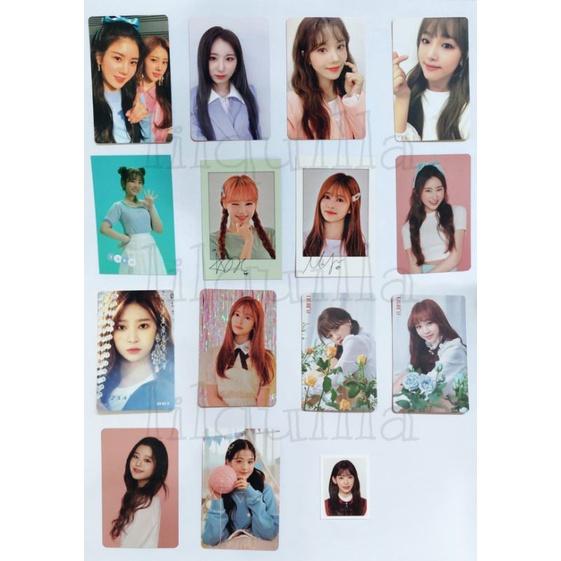 Photocard Iz*one || Color*iz Heart*iz Bloom*iz Oneiric Diary Secret Time fankit kihno