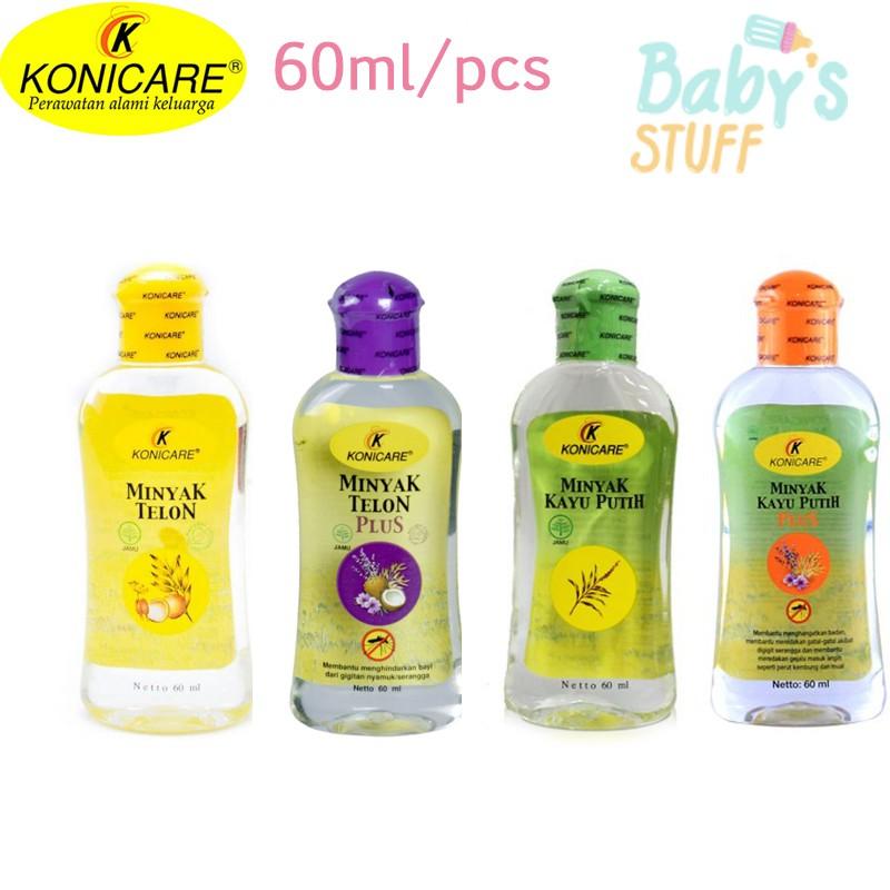 Konicare Minyak Telon / Telon Plus / Kayu Putih / Kayu Putih Plus 60 Ml | Shopee Indonesia