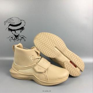 huge discount 6fe25 f3b98 QT Sepatu Sneakers Desain Puma Fenty Rihanna Warna Beige
