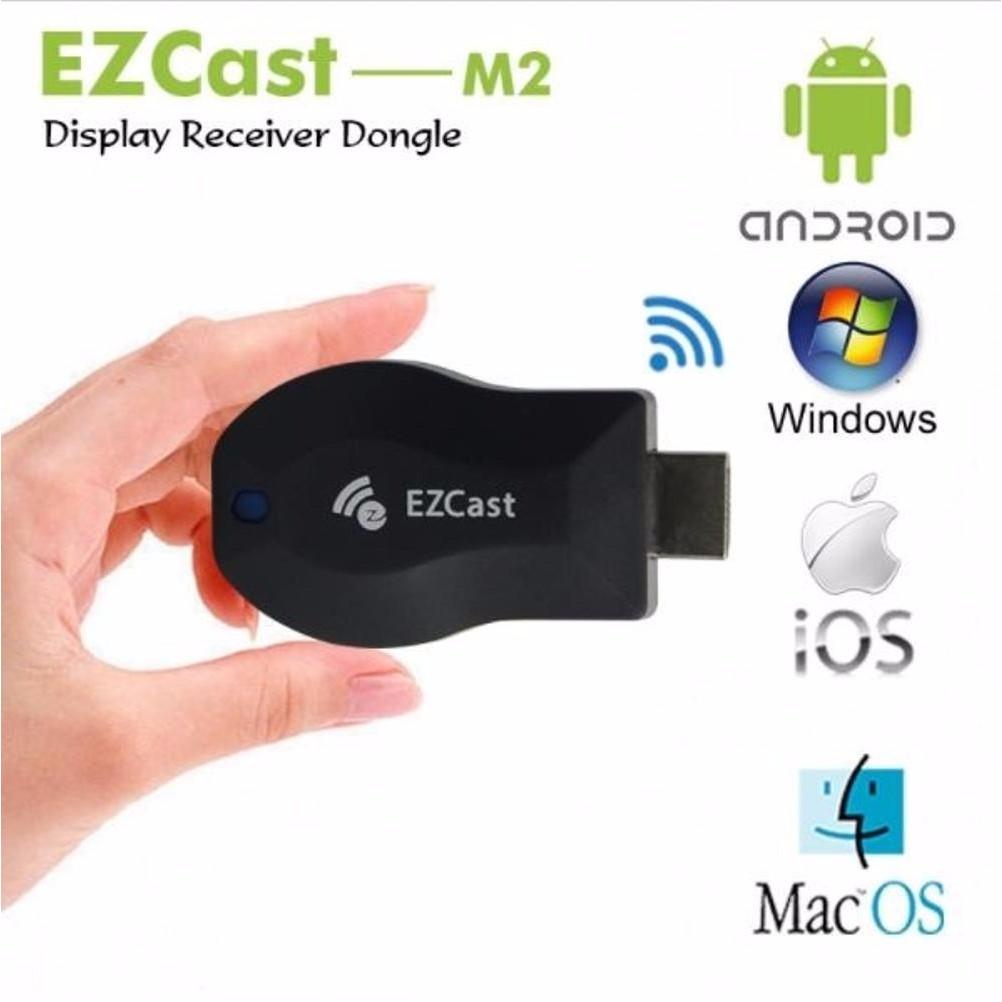Ezcast M2 Dongle Penerima Tact LAN TV WIFI HDMI DLNA Miracast | Shopee Indonesia
