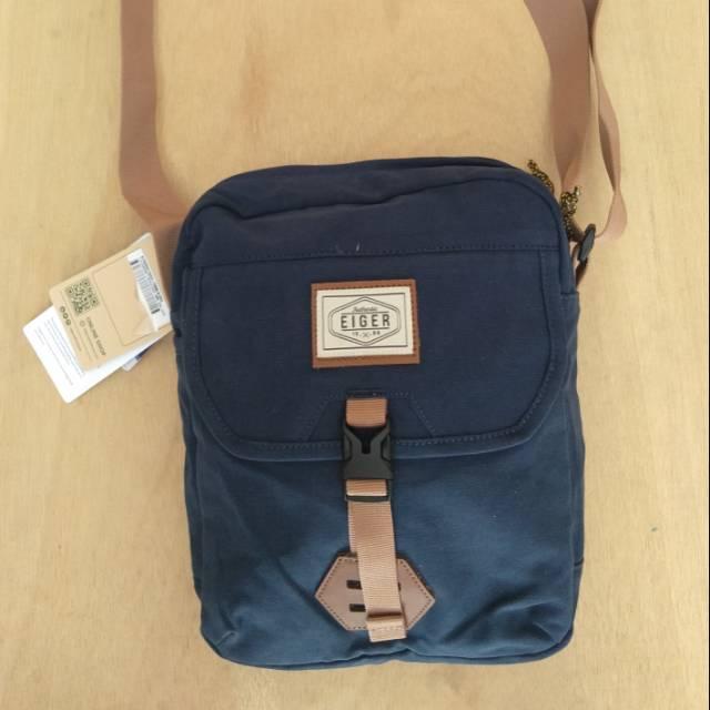 Tas Selempang Eiger Canvas Shoulder Bag 7 Shopee Indonesia