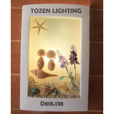 Lampu Dinding Kapur/Gypsum D818/138