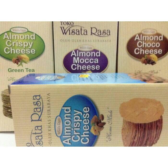 Super Promo Sby Almond Crispy Cheese Original Wisata Rasa
